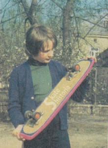 Autor artykułu - Michał Zawodny, Młody Technik, nr 6 1978