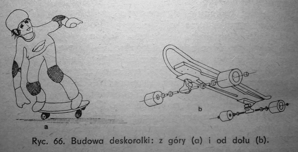 """Deskorolka """"SKateboarder"""""""